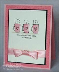 card, greetings card, coffee