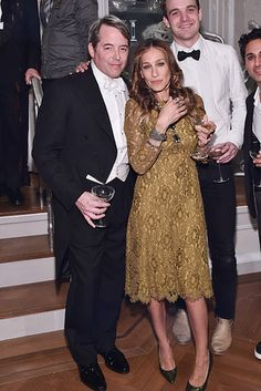 Matthew Broderick and Sarah Jessica Parker, married since 1997. | 27 Celebrity Couples Who Prove Love Can Last A Lifetime