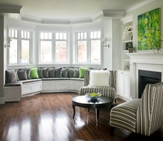 West 26th Bay Window and Custom Crafted Bench Seat