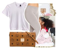 """8/13✨"" by lookatimani ❤ liked on Polyvore featuring Michael Kors, Ashlyn'd, NIKE and MCM"
