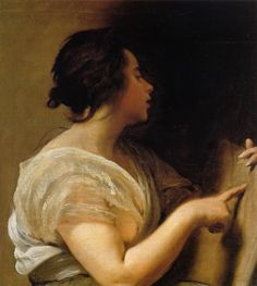 Female Figure (Sibyl with Tabula Rasa) by Diego Velázquez, ca. is in my view a great mistake to suppose that the psyche of a new-born child is a tabula rasa in the sense that there is absolu… Tabula Rasa, Francisco Goya, Spanish Painters, Spanish Artists, Caravaggio, Renaissance, Diego Velazquez, Esteban Murillo, Oil On Canvas