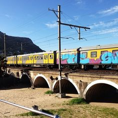 Train in Kalk Bay #lovecapetown #igerscapetown