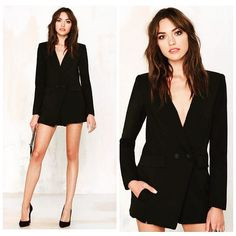 A blazer that doubles as a dress? Yes please @nastygal