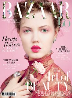 Lindsey Wixson on Ha