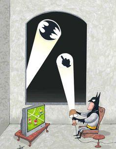 funny super hero comics | Batman Can Be Funny Too