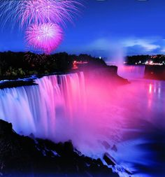 niagara falls usa july 4th fireworks