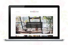 Roseland - A Beautiful WP Blog  by Sculpture Qode on @creativemarket