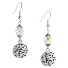 Shimmer and Sparkle Earrings | Fusion Beads Inspiration Gallery