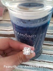 Diamond Candle OR $25 PayPal Giveaway at @Connie Gruning PeanutButterAndWhine.com Peanut Butter and Whine