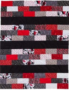 The easiest quilt pattern ever. Love the colors! Simple and quick! (shopmartingale.com) See it in different colors of blues, pastels and gray.