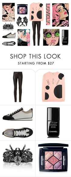 """Love Complications"" by neverboring ❤ liked on Polyvore featuring rag & bone, McQ by Alexander McQueen, Dsquared2, Chanel, BERRICLE and Christian Dior"