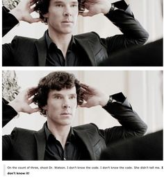 The slight panic in his eyes...*swoons