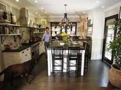 Details About Jeff Lewis Kitchen Design With The Dog
