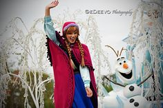 """Anna & Olaf (Frozen)"""