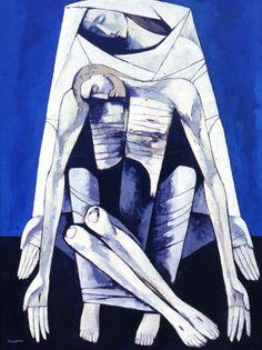 ''El Descendimiento'' Oswaldo Guayasamin