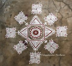 Rangoli and Art Works: Margazhi 2015 - Day 10 kolam