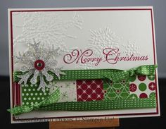 OOOH, I have that embossing folder - have never used it - now i have an idea.