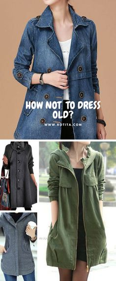 Time to pick some fall&winter coats,how not to dress old?I believe when you come to our website,you know it!Huge selection with new styles added every day. Winter Coats Women, Coats For Women, Jackets For Women, Clothes For Women, Cool Outfits, Casual Outfits, Fashion Outfits, Womens Fashion, Boho Fashion