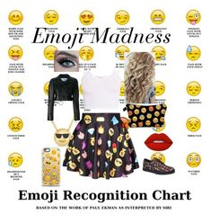 """Emoji Madness"" by kristasmiles ❤ liked on Polyvore featuring Roberto Coin, BasicGrey, Vlado, Off-White, Lime Crime and Casetify"