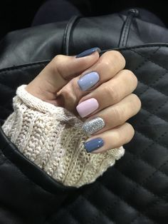 Nail Swag, Cute Acrylic Nails, Cute Nails, Pretty Nails, Perfect Nails, Gorgeous Nails, Nail Manicure, Gel Nails, Glitter Nails