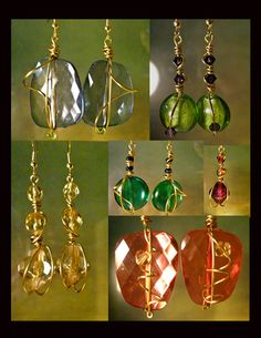 My handmade jewelry, WIrewrapped, made in June 2011