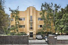 Art Deco Building, Queens Road, Melbourne, Victoria, Australia