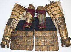 Scale plate samurai armor components
