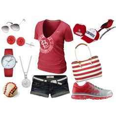 Cardinals love!! Wearing something like this to the home game in April that I am going to.