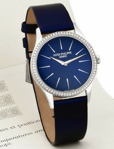 Patek Philippe - Ref.4896G, Calatrava Ultrathin Watch for Ladies