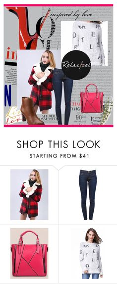 """Relaxfeel 13/15"" by miranda-993 ❤ liked on Polyvore featuring Moschino, Relaxfeel, Frame Denim and Clarks"