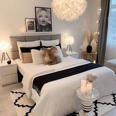 Room Ideas Bedroom, Home Decor Bedroom, Modern Bedroom, Bedroom Signs, Stylish Bedroom, Master Bedroom, Bedroom Inspo, Teen Bedroom Inspiration, Bedroom Decor For Women