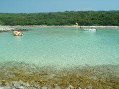 Spiaggia di Meli, Punta Kriza, Cres Croazia