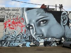 Street art | Mural by Angelina Christina, Ease, Mar and Sek