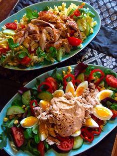 Clean Recipes, Chutney, Cobb Salad, Sushi, Food And Drink, Vegetarian, Chicken, Desserts, Inspiration