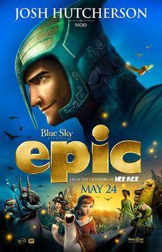 Josh Hutcherson as Nod in the new film Epic! Josh Hutcherson, New Movies, Disney Movies, Good Movies, Movies Online, Colton Haynes, Epic Movie, Movie Tv, Epic Film