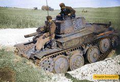 Hungarian Panzer 38 (t) aka Panzer Ii, Ww2 Photos, Model Tanks, Ww2 Tanks, German Army, Armored Vehicles, World War Two, Military Vehicles, Wwii