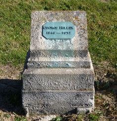 Tombstone Tuesday–George Hiller » Karen's Chatt #genealogy