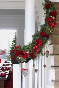 Deck the halls with a beautiful Christmas garland like this one.