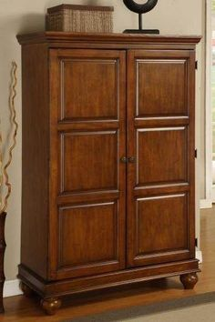 Bon Buy Sunrise Home Furnishings Computer Armoire W Pull Out Drawer In Cherry  Finish At ShopLadder   Great Deals On Computer Armoires With A Superb  Selection To ...