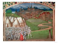 Isabella of France, Roger Mortimer and their troops, from my latest execution blog