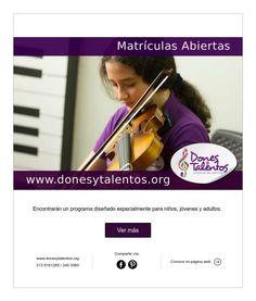 Matriculas - Dones y Talentos