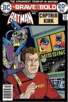 Batman meets Captain Kirk. If this wasn't made for me and @Annie Gayle Neeves I dont know what is