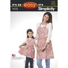 these adorable it's so easy aprons for child and miss feature heart shaped…