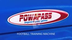 New Powapass product colours - Football/Soccer Machine. #soccer #football #sport #players #team #club #keepers #coaches #drills #goal #skill #training #ffa #adelaideunited #archiethompson #timcahill #thematildas #aleague #socceroos