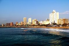Durban is South Africa's third largest city and is quite a study of diversity. With a large population of Zulu, almost half, there exists a strong Indian influence as well. Durban South Africa, Global Village, Art Deco Buildings, Kwazulu Natal, Modern City, Africa Travel, Best Cities, Day Tours, Great Places