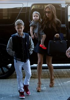 Beckham family departure