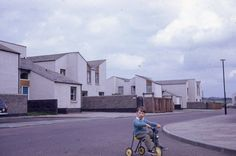 Cumbernauld, March 1967. From the JR James...