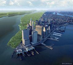 Manhattan 1609 & 2010