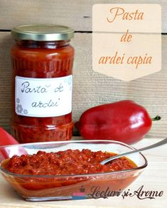 Reteta aceasta de pasta de ardei capia pentru iarna o am de la prietena mamei mele. Este o reteta probata in timp si usor de facut. Romanian Food, Tasty, Yummy Food, Home Food, Pastry Cake, Canning Recipes, I Foods, Healthy Life, Dairy Free