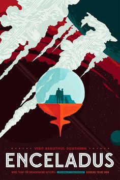 Авторы представили, как будут выглядеть рекламные плакаты, посвящённые космическому туризму.
